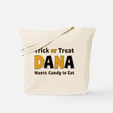 Dana Trick or Treat Tote Bag