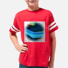 4 elements circle fade Youth Football Shirt