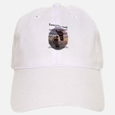Foot Prints In The Sand Baseball Baseball Cap