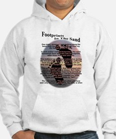 Foot Prints In The Sand Hoodie
