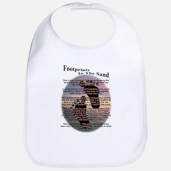 Foot Prints In The Sand Bib