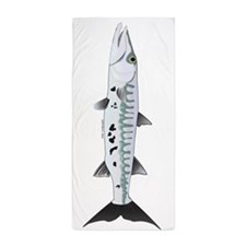 Great Barracuda vt Beach Towel