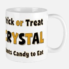 Crystal Trick or Treat Mug