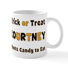 Courtney Trick or Treat Mug