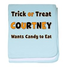 Courtney Trick or Treat baby blanket