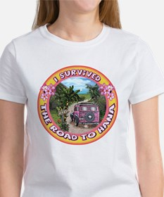 """I survived the road to Hana&qu T-Shirt"