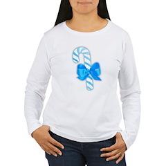 Blue Candy Cane T-Shirt