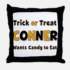 Conner Trick or Treat Throw Pillow