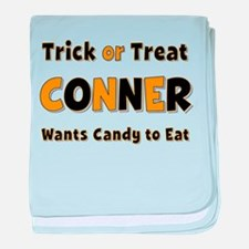 Conner Trick or Treat baby blanket