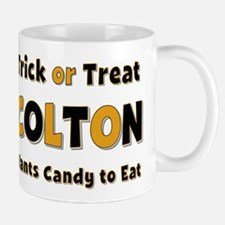 Colton Trick or Treat Mug