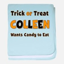 Colleen Trick or Treat baby blanket