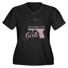 Guns are for Girls Plus Size T-Shirt