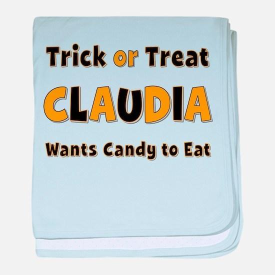Claudia Trick or Treat baby blanket