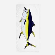 Yellowfin Tuna V Beach Towel