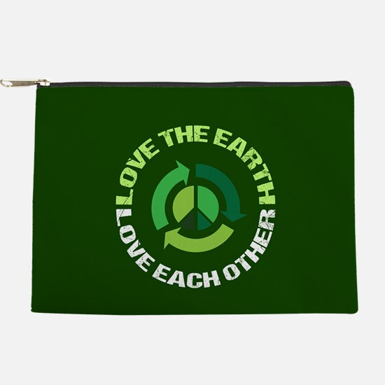 Love Earth Green Makeup Pouch
