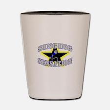 Singing Sensation Shot Glass