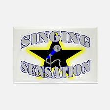 Singing Sensation Rectangle Magnet