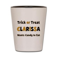 Clarissa Trick or Treat Shot Glass