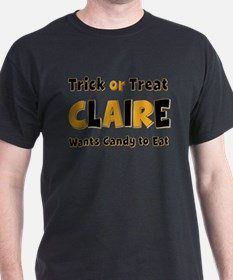 Claire Trick or Treat T-Shirt