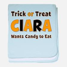Ciara Trick or Treat baby blanket