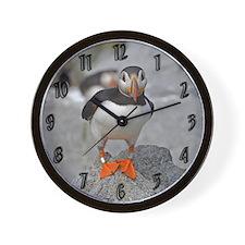 Puffin Wall Clock