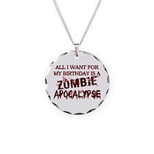 Birthday Zombie Apocalypse Necklace