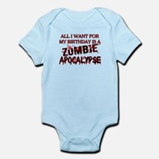 Birthday Zombie Apocalypse Onesie