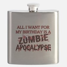 Birthday Zombie Apocalypse Flask