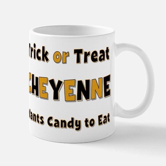 Cheyenne Trick or Treat Mug