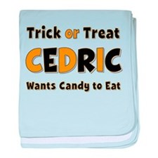 Cedric Trick or Treat baby blanket