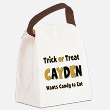 Cayden Trick or Treat Canvas Lunch Bag