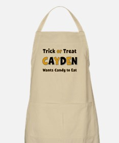 Cayden Trick or Treat Apron