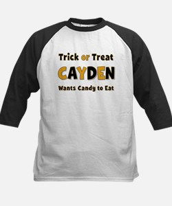 Cayden Trick or Treat Baseball Jersey