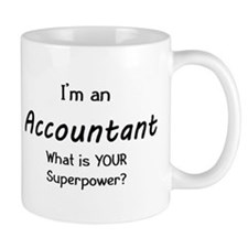 i'm an accountant Small Mug