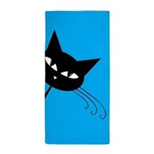Sneaky Kitty Beach Towel