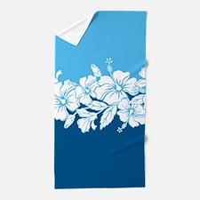 Hibiscus Flowers Beach Towel