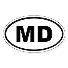 Moldova MD Decal