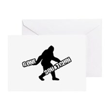 Gone Squatchin Greeting Card