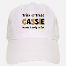 Cassie Trick or Treat Baseball Baseball Baseball Cap
