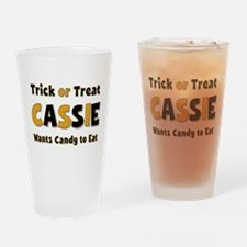 Cassie Trick or Treat Drinking Glass