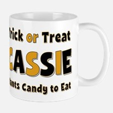 Cassie Trick or Treat Mug