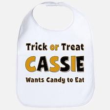 Cassie Trick or Treat Bib