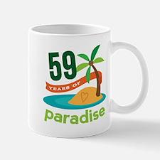 59th Anniversary Paradise Mug