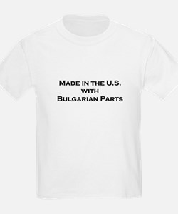 Made in the U.S. with Bulgarian Parts Kids T-Shirt