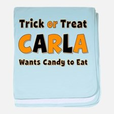 Carla Trick or Treat baby blanket