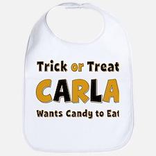 Carla Trick or Treat Bib