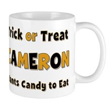 Cameron Trick or Treat Mug