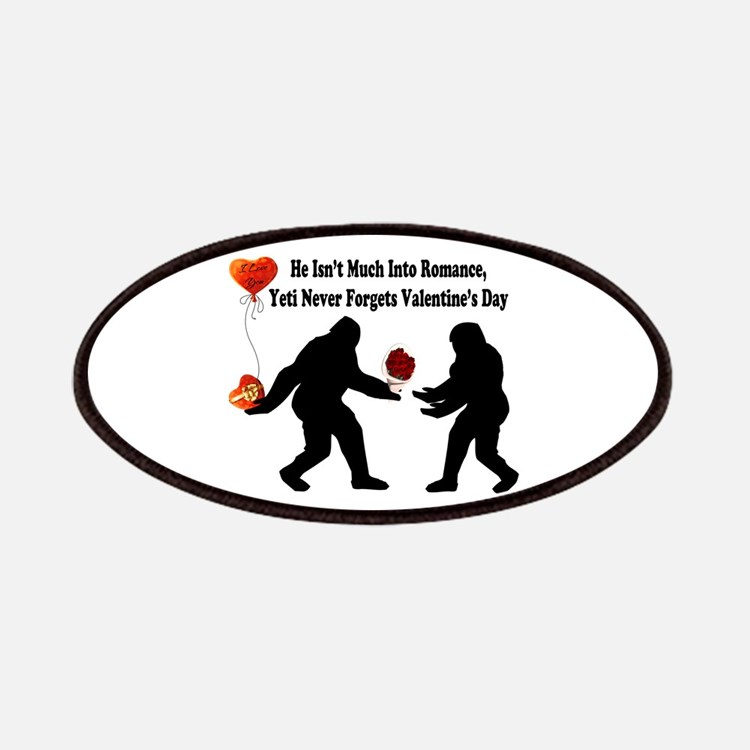 Bigfoot Remembers Valentines Day Patch