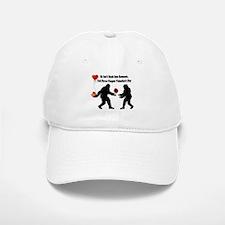 Bigfoot Remembers Valentines Day Baseball Baseball Cap