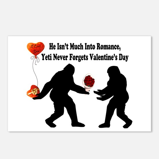 Bigfoot Remembers Valenti Postcards (Package of 8)